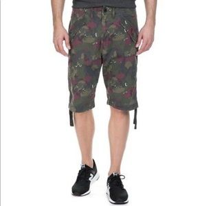 G-Star RAW Rovic Camo Loose 1/2 Length Shorts